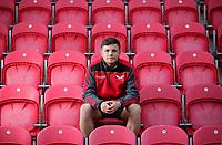 2017 10 23 Steff Evans of the Scarlets, Llanelli, Wales, UK