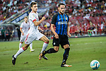 FC Internazionale Defender Danilo D'Ambrosio (R) fights for the ball with Bayern Munich Forward Milos Pantovic (L) during the International Champions Cup match between FC Bayern and FC Internazionale at National Stadium on July 27, 2017 in Singapore. Photo by Marcio Rodrigo Machado / Power Sport Images