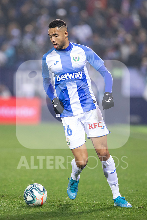 CD Leganes's Youssef En-Nesyri during La Liga match 2019/2020 round 16<br /> December 8, 2019. <br /> (ALTERPHOTOS/David Jar)