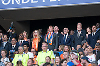 LYON, FRANCE - JULY 07: Netherlands VIP and FIFA President Gianni Infantino during a game between Netherlands and USWNT at Stade de Lyon on July 07, 2019 in Lyon, France.