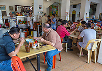 Local Casual Restaurant, Ipoh, Malaysia.
