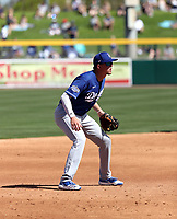 Devin Mann - Los Angeles Dodgers 2020 spring training (Bill Mitchell)