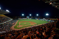A view of The Diamond in Richmond, Virginia during a game between the Richmond Flying Squirrels and the Trenton Thunder on May 11, 2018.  Richmond defeated Trenton 6-1.  (Mike Janes/Four Seam Images)