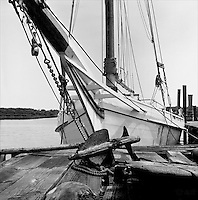 """Fine Art Limited Edition canvas wrap and giclee print """"Dock"""" from the """"Skipjack Sunday"""" Exhibit collection.  Also available in sepia."""