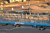 Verizon IndyCar Series<br /> Desert Diamond West Valley Phoenix Grand Prix<br /> Phoenix Raceway, Avondale, AZ USA<br /> Saturday 29 April 2017<br /> Charlie Kimball, Chip Ganassi Racing Teams Honda, Ryan Hunter-Reay, Andretti Autosport Honda<br /> World Copyright: Scott R LePage<br /> LAT Images<br /> ref: Digital Image lepage-170429-phx-3244