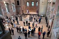 Sommerfest der evangelischen Militaerseelsorge am Dienstag den 14. September 2021 in der Kirche St. Elisabeth in Berlin-Mitte.<br /> Im Bild:<br /> 14.9.2021, Berlin<br /> Copyright: Christian-Ditsch.de