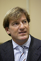 ontreal (QC) CANADA - February 26, 2008- Stephen Bronfman <br /> at a press conference<br /> preceding the launch of the first C-Vert Environment Forum held at YM-YWHA - Jewish Community Centres<br />                5400, Westbury ave.<br />                Montreal.<br /> <br /> Partners of the<br /> project, including Mayor of the Villeray-Saint-Michel-Parc-Extension borough <br /> Ms. Anie Samson and Councillor for Cote-des-Neiges-Notre-Dame-de-Grâce<br /> Mr. Marvin Rotrand, will be on hand to mark this event.<br /> <br /> photo : (c) Pierre Roussel -  Images Distribution<br /> <br /> <br /> PHOTO :  Agence Quebec Presse