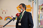 Fernando Calvo, Asset Services Operations Director of CBRE in press conferece in the Xanadu Shopping Center in Madrid on the day of its reopening during the beginning of Phase 2 of the unconfinement during the health crisis due to the Covid-19 - Coronavirus pandemic. June 8,2020. (ALTERPHOTOS/Ricardo Blanco)