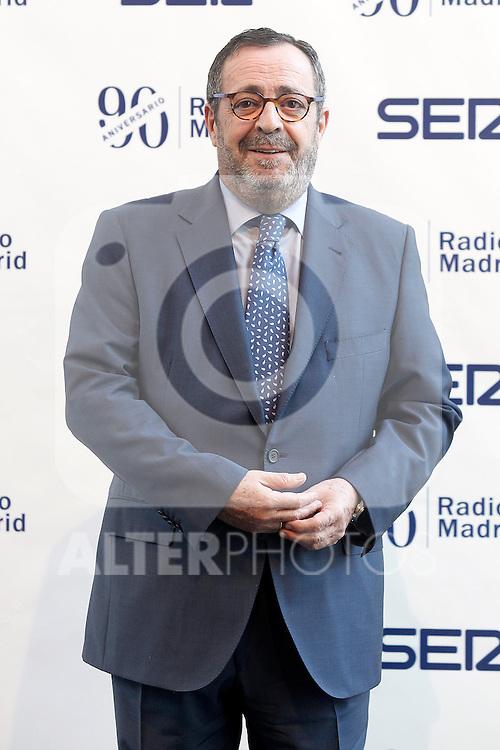 "The spanish journalist Javier Gonzalez Ferrari during the Gala ""Contigo"" in celebration of the 90th anniversary of Radio Madrid Cadena SER. June 2, 2015. (ALTERPHOTOS/Acero)"