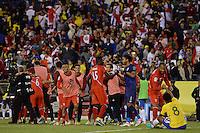 Action photo during the match Brasil vs Peru at Gillette Stadium Copa America Centenario 2016. ---Foto  de accion durante el partido Brasil vs Peru , En el Estadio Gillette Partido Correspondiante al Grupo - B -  de la Copa America Centenario USA 2016, en la foto: Elias - 12/06/2016/MEXSPORT/Adrian Macias.