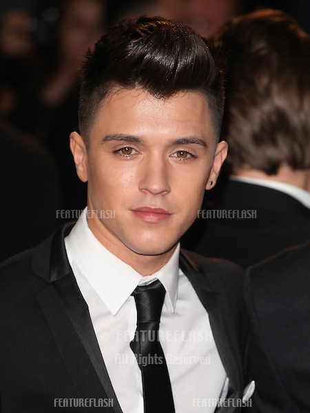Jamie Hamblett from Union J arriving for the Royal World Premiere of 'Skyfall' at Royal Albert Hall, London. 23/10/2012 Picture by: Alexandra Glen / Featureflash