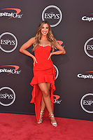 LOS ANGELES, USA. July 10, 2019: Katie Austin at the 2019 ESPY Awards at the Microsoft Theatre LA Live.<br /> Picture: Paul Smith/Featureflash