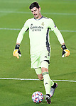 Real Madrid's Thibaut Courtois during UEFA Champions League match. October 20,2020.(ALTERPHOTOS/Acero)