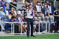 SAN JOSE, CA - AUGUST 8: San Jose Earthquakes head coach Matias Almeyda during a game between Los Angeles FC and San Jose Earthquakes at PayPal Park on August 8, 2021 in San Jose, California.