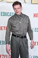 "Jojo Macari<br /> arriving for the ""Sex Education"" season 2 launch at Genesis Cinema Mile End Road, London.<br /> <br /> ©Ash Knotek  D3547 08/01/2020"