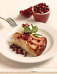 Pomegranate - Apple Cake