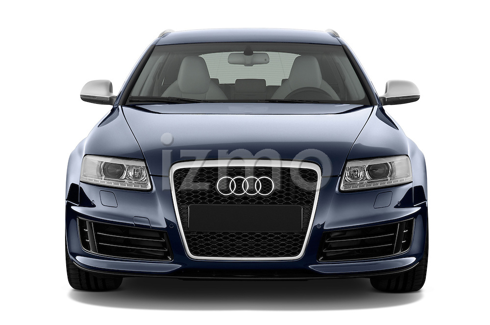 Straight front view of a 2008 - 2013 Audi RS6 5 Door Wagon 4WD.