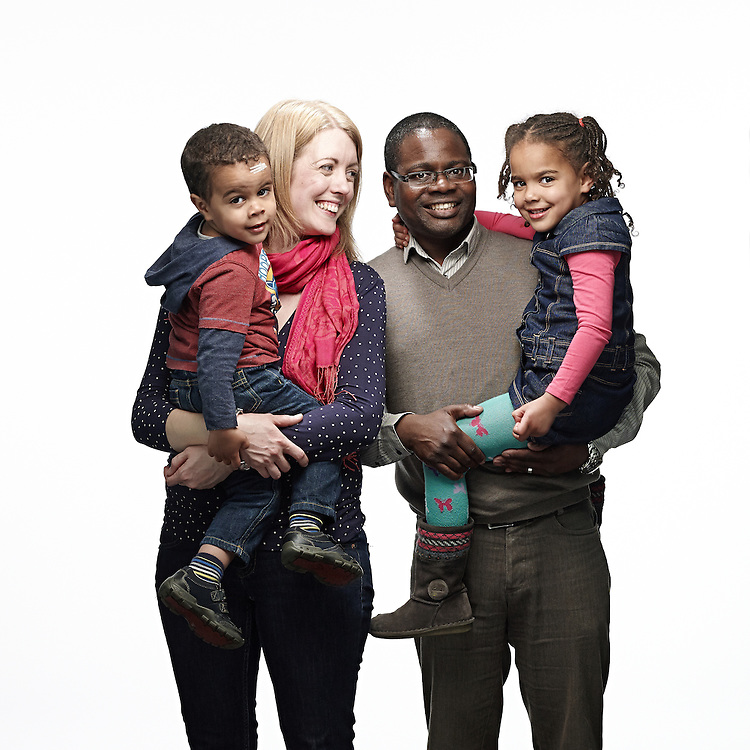 © John Angerson<br /> 140320  Quaker week Portraits<br /> Vento family<br /> Kevin, Lucy Richard, Katie and Alex<br /> Licence expires March 2017