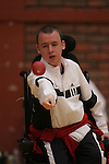 Boccia Championships..Welsh Institute of Sport - Cardiff.17.05.08.©Steve Pope.Sportingwales.The Manor .Coldra Woods.Newport.South Wales.NP18 1HQ.07798 830089.01633 410450.steve@sportingwales.com.www.fotowales.com.www.sportingwales.com