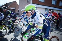 Caleb Ewan (AUS/Orica-GreenEDGE) got introduced to belgian racing today<br /> <br /> Kuurne-Brussel-Kuurne 2016