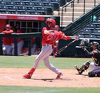 Denzer Guzman - Los Angeles Angels 2021 extended spring training (Bill Mitchell)