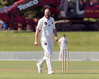 Iain McPeake during Day 1 of Round Two Plunket Shield cricket match between Canterbury and Wellington at Hagley Oval in Christchurch, New Zealand on Wednesday, 28 October 2020. Photo: Martin Hunter / lintottphoto.co.nz