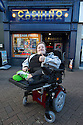 "20/11/15<br /> <br /> Thanks to the joint fundraising efforts of customers and staff at Cashino adult gaming centre on Station Street Burton-On-Trent, Arron Kent, a seventeen year old teenager from Swadlincote has received a new, customised powered wheelchair to help boost his mobility. <br /> <br /> Arron, who lives with his mum, Diane, dad Alan and sister Tabitha, suffers from Osteogenesis Imperfecta – a severe brittle bone disease which has seriously affected Arron's ability to walk. His condition means his bones break easily, often from mild trauma or with no apparent cause.  <br /> <br /> Arron currently has a basic powered wheelchair  but as his condition progresses the chair is becoming inadequate to meet Arron's growing needs. <br /> <br /> Arron's mum Diane said: ""We are very grateful to Cashino and CHIPS charity for providing Arron with a new state of art powered wheelchair. As he develops into adulthood, it is important that he maintains his independence, this powered wheelchair with features including adjustable height, tilt in space and excellent manoeuvrability will literally revolutionise Arron's life. <br /> <br /> Diane continues ""Arron is developing his hobby of showing rabbits and the rise and fall feature of his new wheelchair means he can now reach the judging tables without needing the assistance of another person.""<br /> <br /> Cashino, which operates 155 adult gaming centres across the country, is one of the main fundraisers for CHIPS, a charity set up on behalf of the casino and gaming industry, which aims to provide specialised wheelchairs for children and young people with severe mobility problems.<br /> <br /> Janet Neal, manager of Cashino Burton-On-Trent, presented Arron with his new wheelchair last Friday, 20th November 2015.<br /> <br /> Speaking after the presentation, Janet Neal said: ""Arron is a lovely young man and is so deserving of this wheelchair. It makes all the fundraising efforts from all of our staff and customers here in Burton-On-Trent and throughout our estate certainly worth it.""<br /> <br /> Co-founder of th"