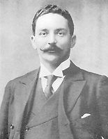 BNPS.co.uk (01202 558833)<br /> Pic: Wikipedia <br /> <br /> PICTURED: Bruce Ismay<br /> <br /> Letter written by William Harrison to his wife Ann complaining about the working conditions on board the Titanic is valued at £18,000<br /> <br /> Remarkable water-stained documents recovered from the body of the assistant to the most controversial person on the Titanic have been discovered 107 years later.<br /> <br /> The personal archive of valet William Harrison also includes a four page letter he wrote home to his wife moaning about his working conditions under Bruce Ismay.<br /> <br /> The managing director of Titanic's owners White Star Line was portrayed as a coward in James Cameron's epic movie when he snuck into a lifeboat rather than going down with the ship.<br /> <br /> Mr Harrison told her how he was 'fed up' with spending hours writing letters to post for Ismay.