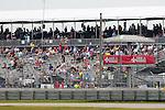 April 11, 2015: Saturdays rain delay crowds during the Indy Grand Prix of Louisiana at NOLA Motor Speedway in New Orleans, LA. Steve Dalmado/ESW/CSM