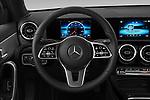 Car pictures of steering wheel view of a 2019 Mercedes Benz A-Class A-200 4 Door Sedan Steering Wheel