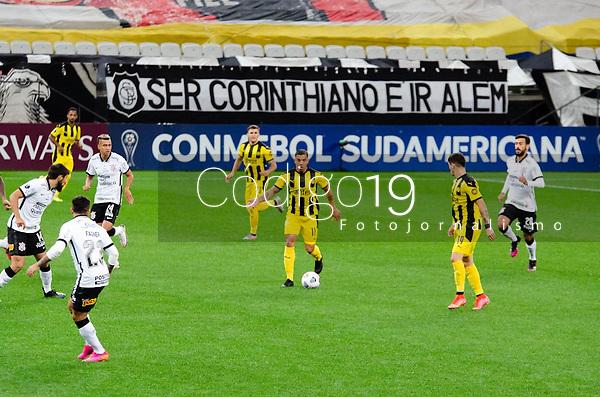 São Paulo (SP), 29/04/2021 - CORINTHIANS-PEÑAROL - Terans, do Peñarol. Corinthians e Peñarol partida válida pela 2ª rodada da Sul-Americana 2021, na Neo Química Arena, nesta quinta-feira (29).
