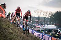 Eli Iserbyt (BEL/Pauwels Sauzen-Bingoal)<br /> <br /> Men Elite Race<br /> UCI Cyclocross Worldcup – Hoogerheide (Netherlands)<br /> <br /> ©kramon