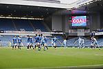 25.07.2020 Rangers v Coventry City: Connor Goodson scores goal no 2 for Rangers