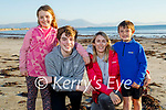 The O'Sullivan enjoying Ballyheigue beach on Good Friday, l to r: Emma, Jamie, Norma and Colin O'Sullivan.