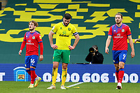 20th March 2021; Carrow Road, Norwich, Norfolk, England, English Football League Championship Football, Norwich versus Blackburn Rovers; A dejected Grant Hanley of Norwich City after the 1-1 draw