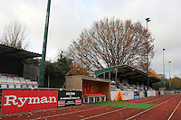 A general view of the West Side of the ground - AFC Hornchurch vs Wingate & Finchley - Ryman League Premier Division Football at Hornchurch Stadium, Bridge Avenue, Upminster, Essex - 30/11/13 - MANDATORY CREDIT: Gavin Ellis/TGSPHOTO - Self billing applies where appropriate - 0845 094 6026 - contact@tgsphoto.co.uk - NO UNPAID USE
