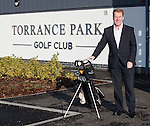 Murdo McLeod, Walter Smith and Ally McCoist open the refurbished clubhouse at Torrance Park Golf Club near Motherwell