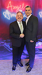 "Marc Shaiman and Louis Mirabal attends the Broadway Opening Night Arrivals for ""Angels In America"" - Part One and Part Two at the Neil Simon Theatre on March 25, 2018 in New York City."