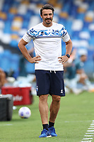Massimo Oddo coach of SC Pescara<br /> during the friendly football match between SSC Napoli and Pescara Calcio 1936 at stadio San Paolo in Napoli, Italy, September 11, 2020. <br /> Photo Cesare Purini / Insidefoto