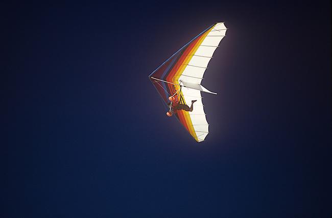 Hang Gliding, Cape Kiwanda, Oregon
