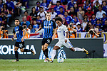 Chelsea Midfielder Willian da Silva (R) plays against FC Internazionale Forward Ivan Perisic (L) celebrating his goal scored by penalty during the International Champions Cup 2017 match between FC Internazionale and Chelsea FC on July 29, 2017 in Singapore. Photo by Marcio Rodrigo Machado / Power Sport Images