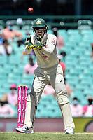 9th January 2021; Sydney Cricket Ground, Sydney, New South Wales, Australia; International Test Cricket, Third Test Day Three, Australia versus India; Tim Paine of Australia catches the ball
