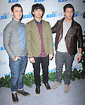 Kevin Jonas, Joe Jonas, Nick Jonas attends the 102.7 KIIS FM'S Jingle Ball 2012 held at The Nokia Theater Live in Los Angeles, California on December 01,2012                                                                               © 2012 DVS / Hollywood Press Agency