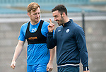 St Johnstone Training…12.05.17<br />Liam Craig pictured during training today with physio Tony Tompos ahead of tomorrow's game against Partick Thistle<br />Picture by Graeme Hart.<br />Copyright Perthshire Picture Agency<br />Tel: 01738 623350  Mobile: 07990 594431