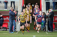 Monday 27th February 2017   ULSTER SCHOOLS CUP SEMI-FINAL<br /> <br /> Michael Lowry during the Ulster Schools Cup Semi-Final between RBAI and Ballymena Academy  at Kingspan Stadium, Ravenhill Park, Belfast, Northern Ireland. <br /> <br /> Photograph by John Dickson   www.dicksondigital.com