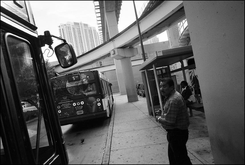 "Government Center<br /> From ""Miami in Black and White"" series. Miami, Florida, 2009"