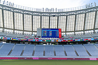 TOKYO, JAPAN - JULY 21: Tokyo Stadium before a game between Sweden and USWNT at Tokyo Stadium on July 21, 2021 in Tokyo, Japan.