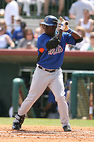 March 16th 2008:  Victor Mendez of the New York Mets during a Spring Training game at Osceola County Stadium in Kissimmee, FL.  Photo by:  Mike Janes/Four Seam Images