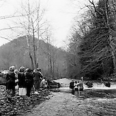 Blair, West Virginia<br /> January 16, 2005<br /> <br /> A baptism in the winter waters following Sunday service.