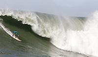 Josh Loya. Mavericks Surf Contest in Half Moon Bay, California on February 13th, 2010.